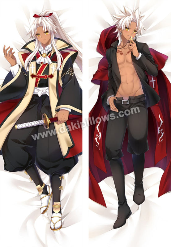Amakusa Shirou - Fate Male Anime Dakimakura Japanese Hugging Body Pillow Cover