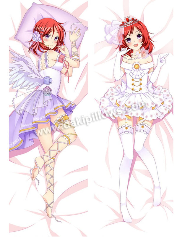 Nishikino Maki - Love Live Anime Dakimakura Japanese Hugging Body Pillow Cover