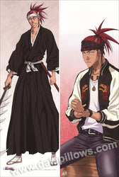 Bleach - Renji Abarai Anime Dakimakura Pillow Cover