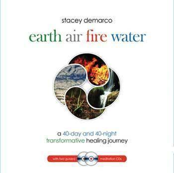 Earth Air Fire Water (hc Bk & 2 Cd's) By Stacey Demarco
