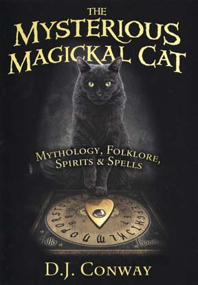 Mysterious Magickal Cat By D J Conway