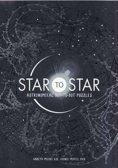 Star To Star, Dot To Dot Puzzles By Moore & Phil