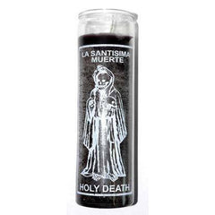 Holy Death Black 7 Day Jar Candle