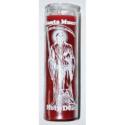 Holy Death Red 7 Day Jar Candle
