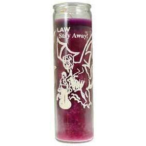 Law Stay Away 7 Day Jar Candle