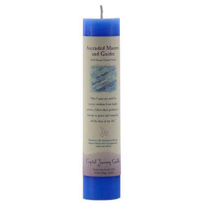 Ascended Master & Guides Reiki Charged Pillar Candle