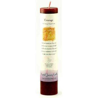 Courage Reiki Charged Pillar Candle