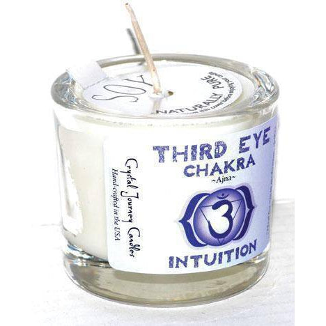 Third Eye Chakra Soy Votive Candle