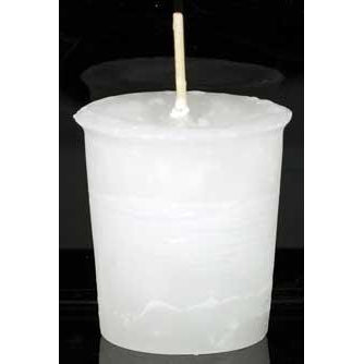 Spirit Herbal Votive - White