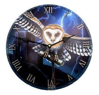 Flying Owl Clock