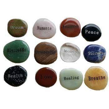 Inspirational Word Worrry Stone (various Words)