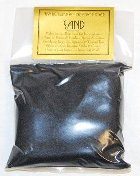 1 Lb Black Incense Burner Sand