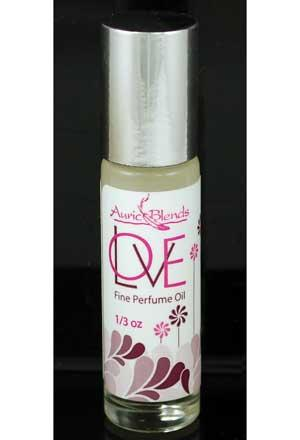 1-3 Ounce Love Special Label Auric Blends Roll On