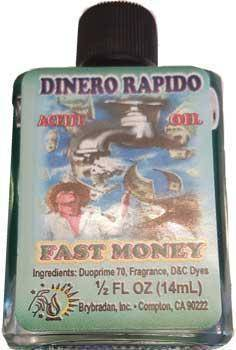 Fast Money Oil Dinero Rapido 1/2 Oz