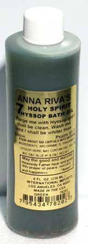 8oz 7 Holy Spirit Hyssop Bath Oil