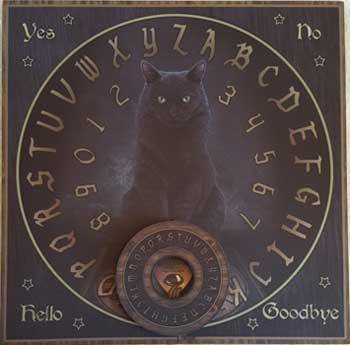 His Masters Voice Cat Ouija Board
