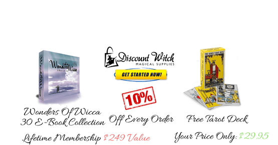 Become a member of discount witch discountwitch lifetime membership wonders of wicca free tarot deck fandeluxe Gallery