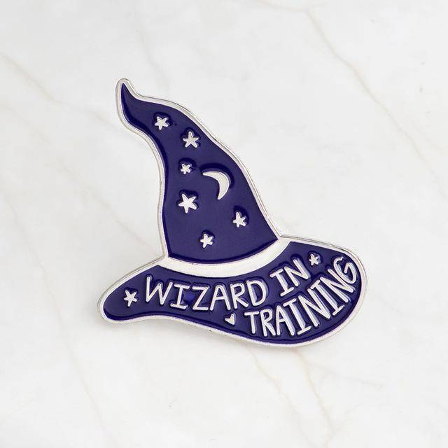Wizard In Training Pins Set Of 2