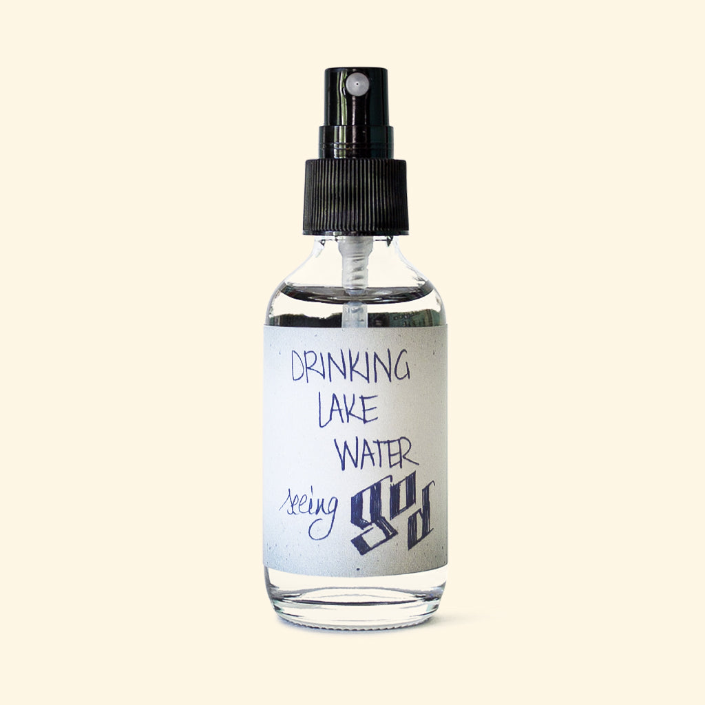 DRINKING LAKE WATER ROOM SPRAY