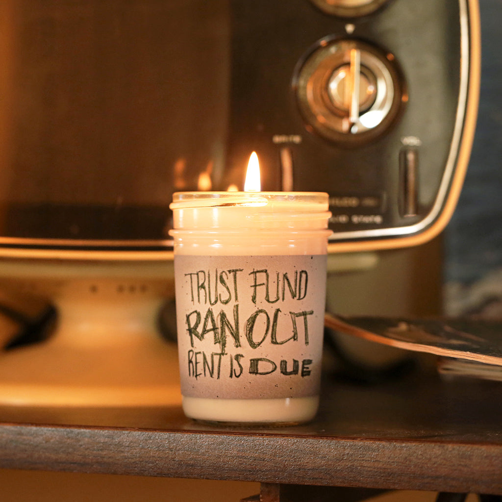 TRUST FUND CANDLE