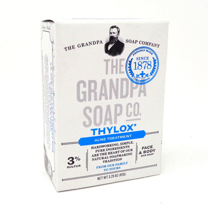 Grandpa Soap Company Thylox Acne Treatment - 3.25 Ounce Bar