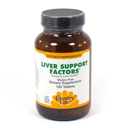 Country Life Liver Support Factors  100 Tablets