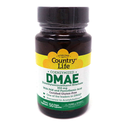 DMAE Caps by Country Life - 50 Capsules