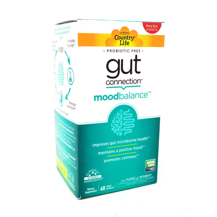 Country Life Gut Connection Mood Balance 60 capsules