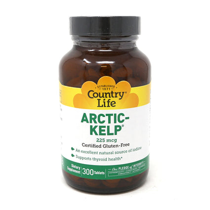 Norwegian Kelp 225 mcg by Country Life 300 Tablets