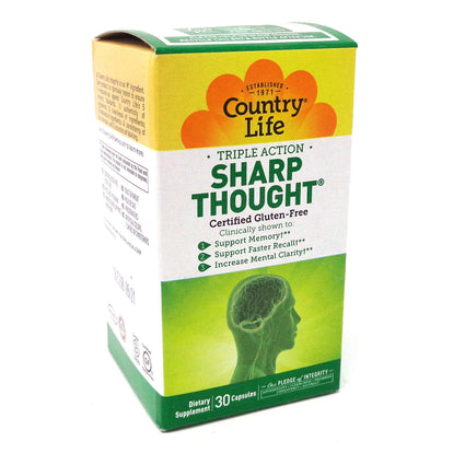 Sharp Thought By Country Life - 30 Capsules