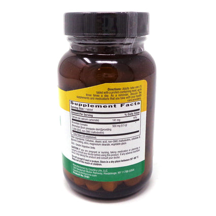 Country Life Bromelain 500 mg  60 Tablets