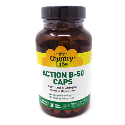 Country Life Action B-50  100 Capsules