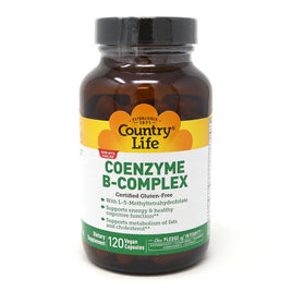 Country Life CoEnzyme B-Complex  - 120 VegiCaps