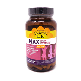 Maxine Gentle Strength for Women Iron-Free Caps by Country Life 120 Capsules