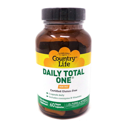 Country Life Daily Total One  60 Vegetarian Capsules