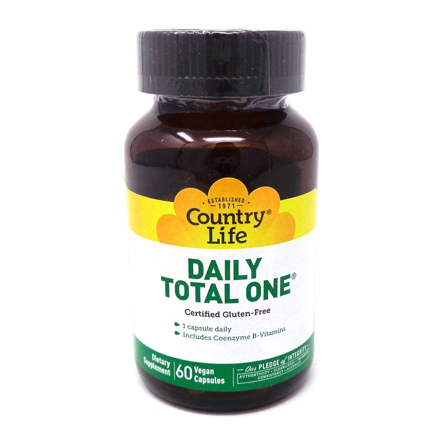 Daily Total One Maxi-Sort by Country Life 60 Vegetarian Capsules