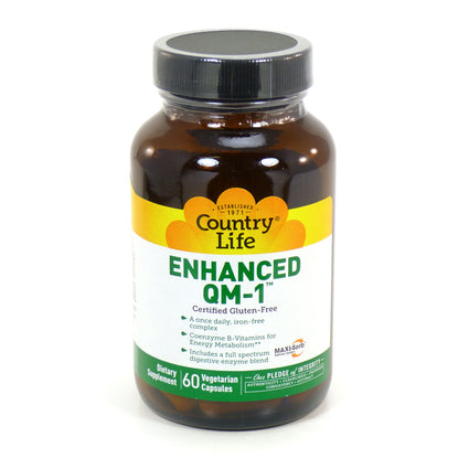 Country Life Enhanced QM 1 Multivitamin  - 60 Capsules