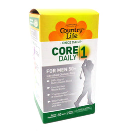 Country Life Core Daily 1 Men 50 plus  - 60 Tablets