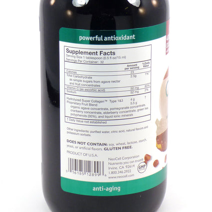 Collagen +C Pomegranate Liquid by Neocell Laboratories - 12 Ounces