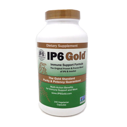 IP6 IP6 Gold Immune Support Formula by IP6 - 240 Vegetarian Capsules