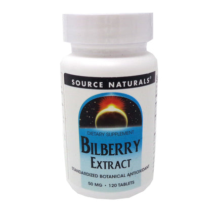 Source Naturals Bilberry Extract - 120 Tablets