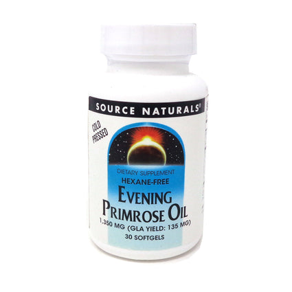 Source Naturals Evening Primrose Oil 0 30 Softgels