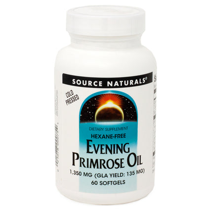 Source Naturals Evening Primrose Oil 1350 mg 60 SG