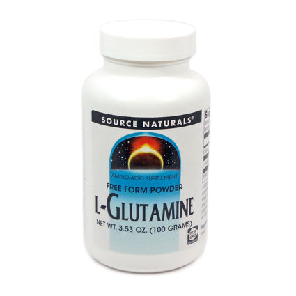 Source Naturals L-Glutamine - 100 Gm Powder