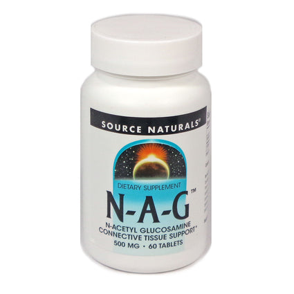 Source Naturals N-A-G 500 mg - 60 Tablet