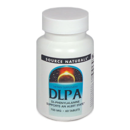 Source Naturals DLPA 750 mg - 60 Tablet