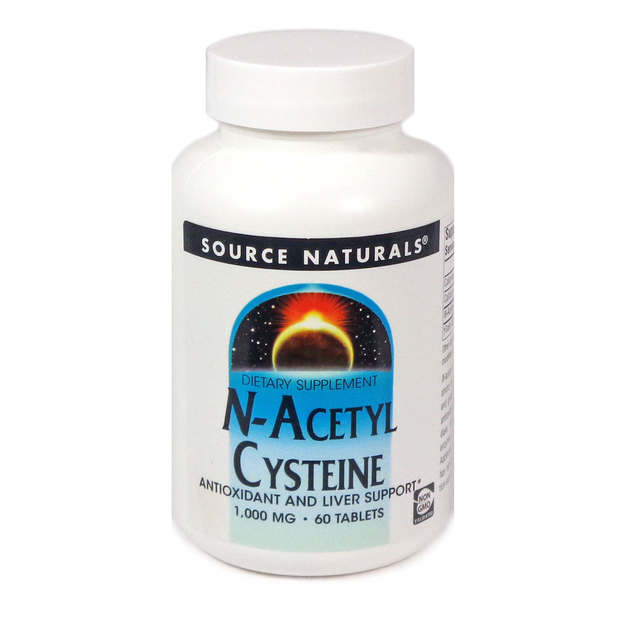 Source Naturals N-Acetyl Cysteine 1000 mg - 60 Tablet