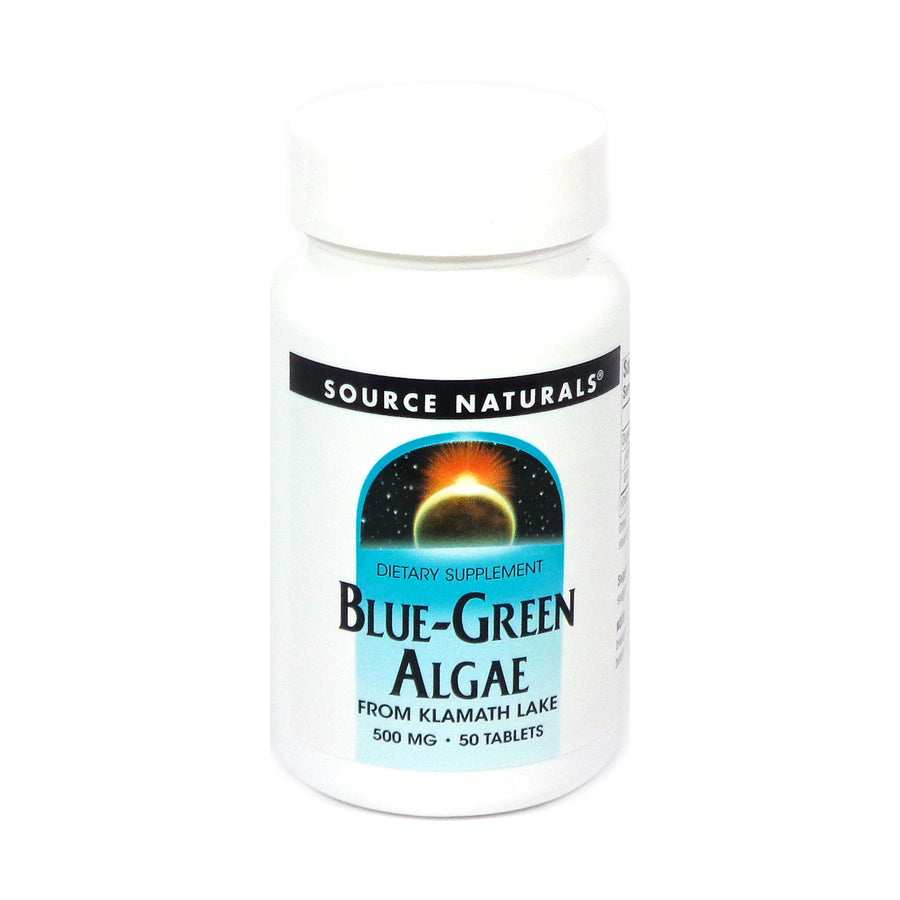 Source Naturals Blue-Green Algae Freeze Dried 500 mg - 50 Tablet