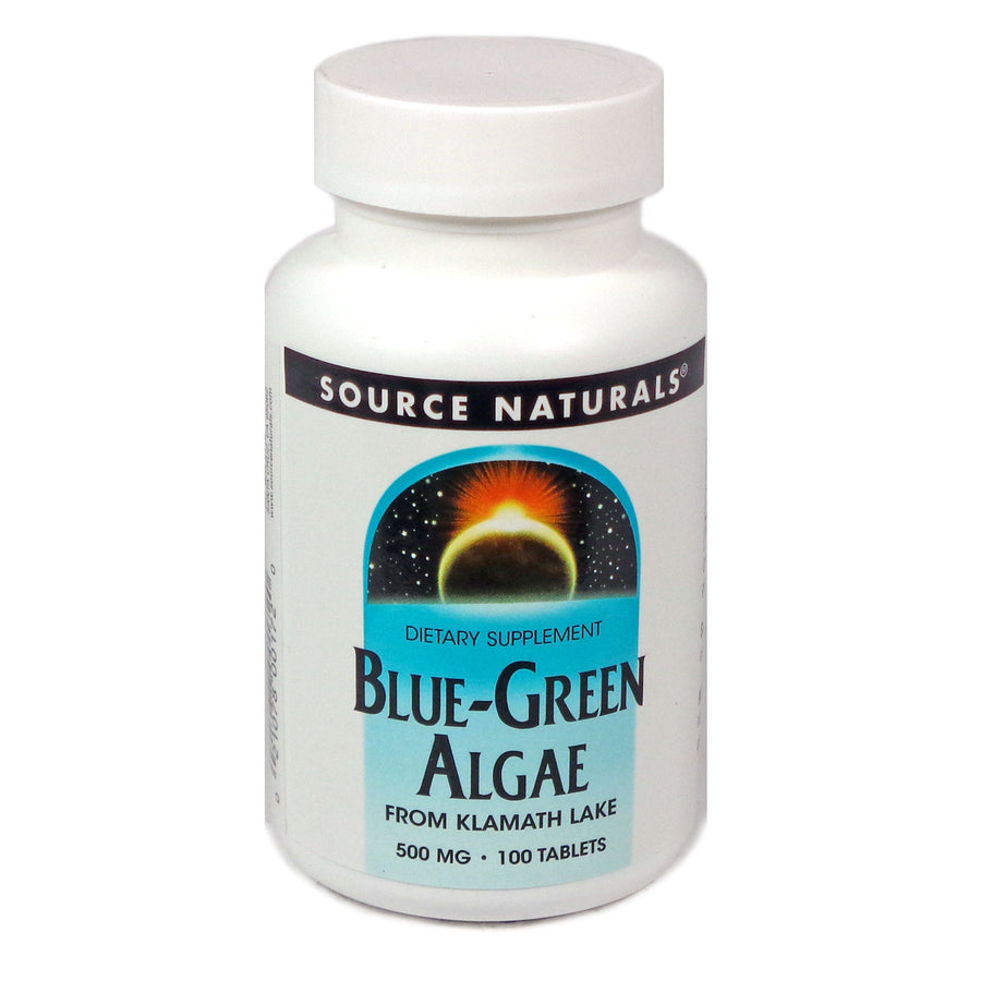 Source Naturals Blue-Green Algae Freeze Dried 500 mg - 100 Tablet