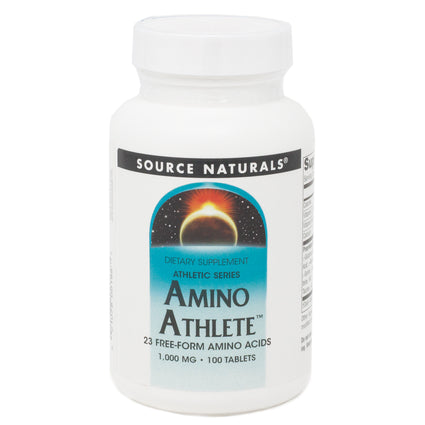 Source Naturals Amino Athlete 1000 mg 100 tabs